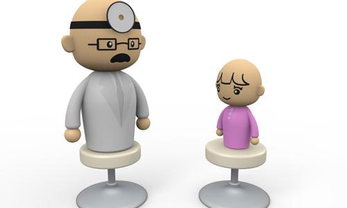 子供と医者